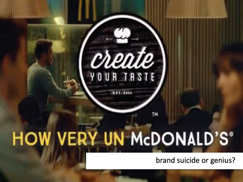 Brand Suicide or Genius?